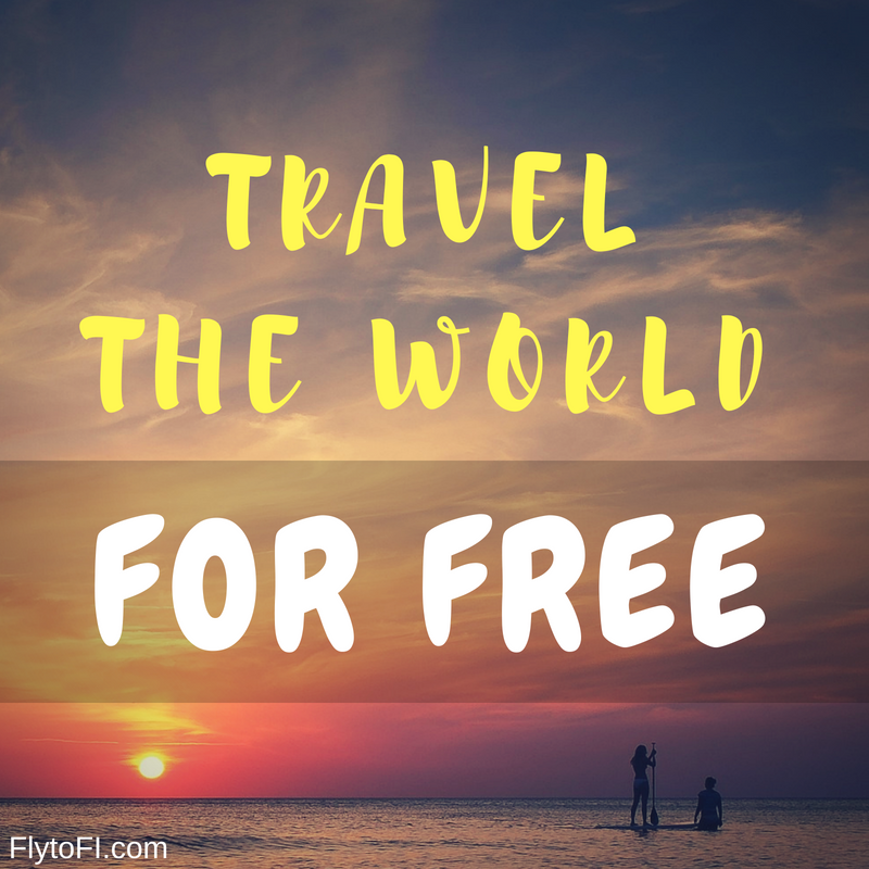 How to Travel The World With Free Accommodation - Fly to FI