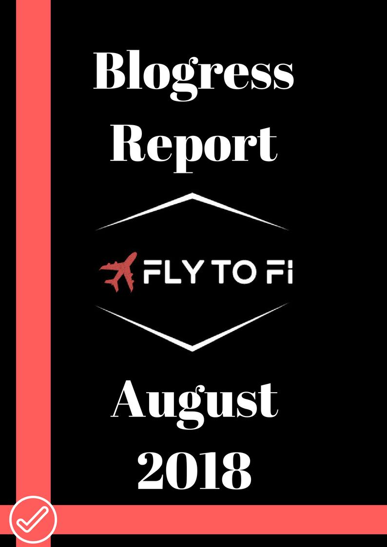 Blogress Report - August 2018