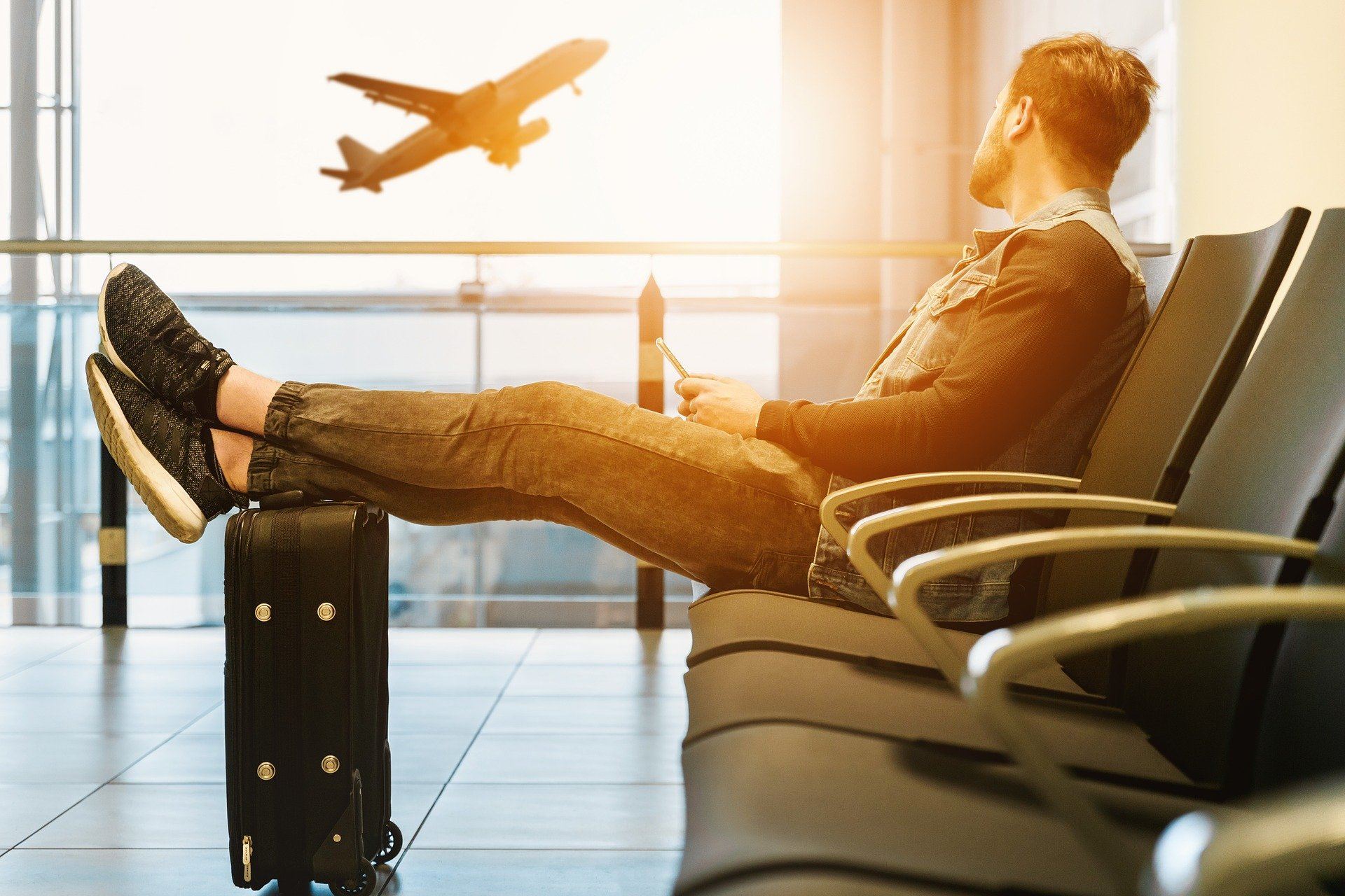 Travel Hacking for Dummies - Sitting at Airport