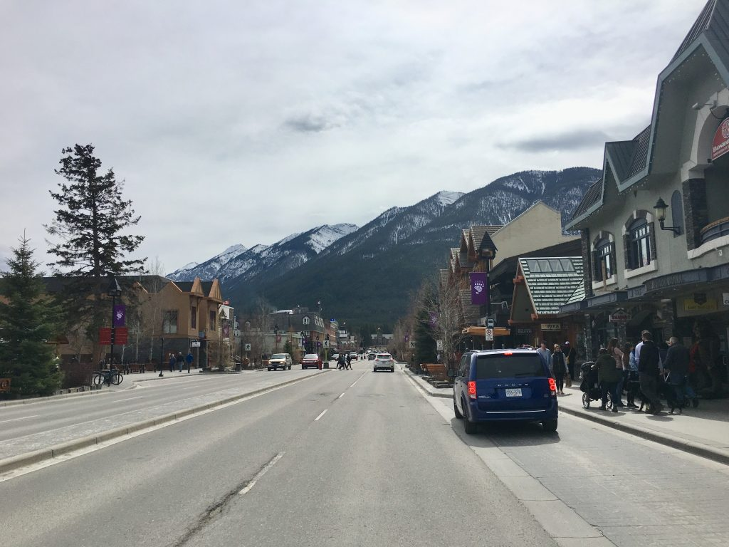 Banff Downtown