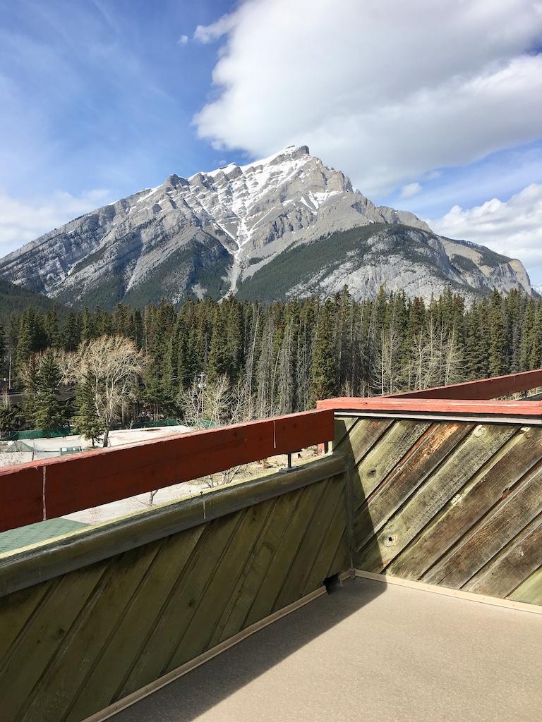 Banff Hotel View